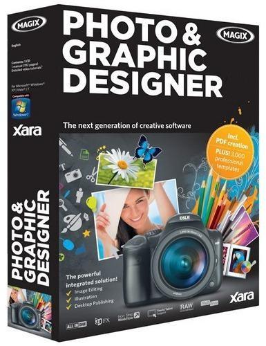 Xara Photo & Graphic Designer MX 8.1.1.22437