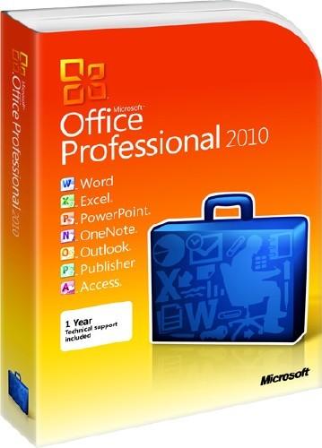 Microsoft Office 2010 Professional Plus SP1 DG Win&Soft 2012.06