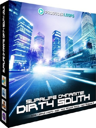 Producer Loops Supalife Dynamite Dirty South Vol 2-UGET [DJ Vagan]