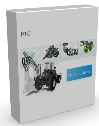 PTC Creo Illustrate 2 + DS 3DVIA Composer V6R2013 SP1 x86+x64 [2012, RUS]