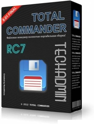 Total Commander v 8.01 Final TechAdmin (RC7) x86|x64