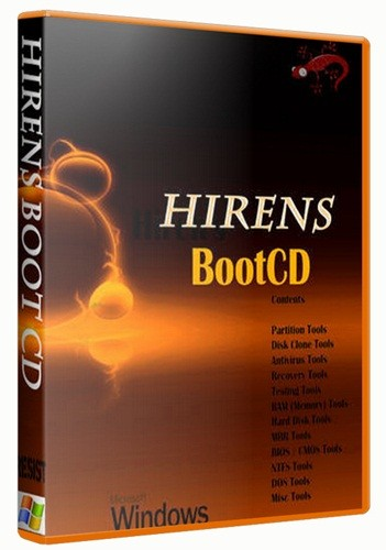 Hiren's Boot DVD 15.1 Restored Edition V 2.0 - Proteus (May 2012)