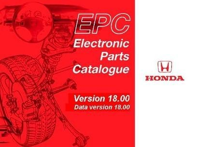 Honda EPC 18 Catalog + Honda ShopManual