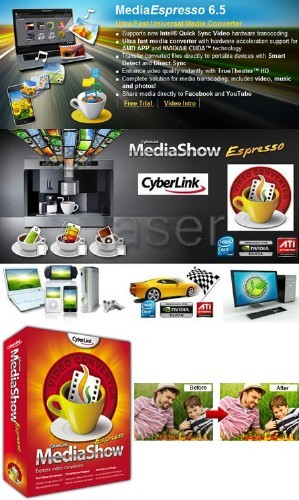 CyberLink MediaShow Espresso 6.5 Build 38196 incl Key