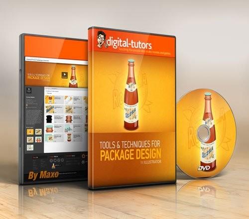 Digital - Tutors - Создание упаковки изделий в Illustrator