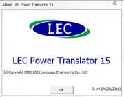 LEC Power Translator World Premium 15 v 3.1r9 Multilingual