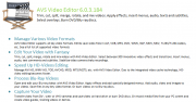 AVS Video Converter 8.0.3.494 with Video Editor 6.0.3.184 With All AVS Video Tools -Final +Crack