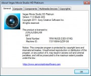 Vegas Movie Studio HD Platinum 11.0 Build 220